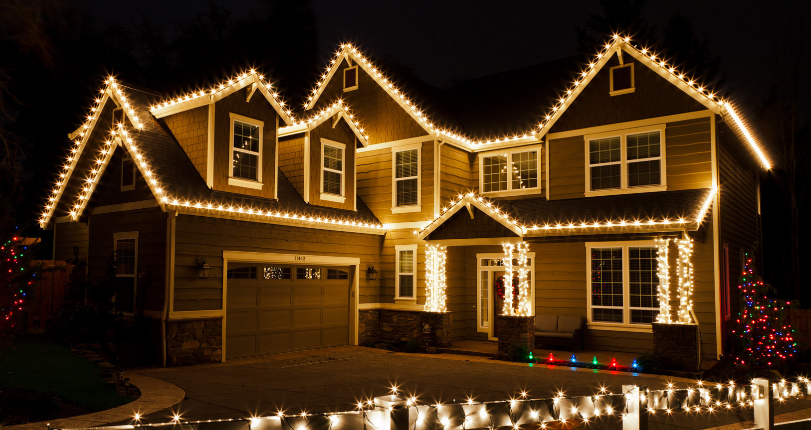 full service cut to fit christmas lighting package